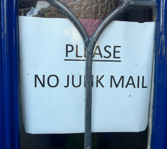 Moneywise - Bring an end to Junk mail once and for all!