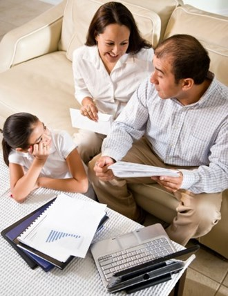 Money blogger Miss Thrifty discusses family finance.