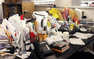 Phil Jones from Brother UK explains how a messy desk could prevent a promotion