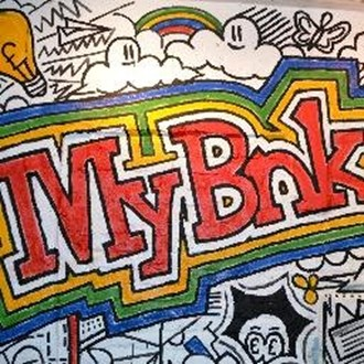 How is MyBnk trying to improve financial awareness amongst young people?