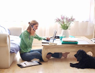 Esther Canonico from the London School of Economics explains why working from home is bad for your career