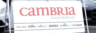 Revenue up 17.3% to £614.2m for franchised motor retailer Cambria Automobiles
