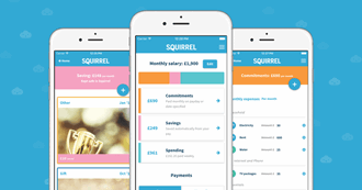 Mutaz Qubbaj, founder of the budgeting app Squirrel talks personal budgeting