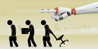 UK Think-tank Future Advocacy's founder Olly Buston discusses the possibility of robots replacing humans in the workplace