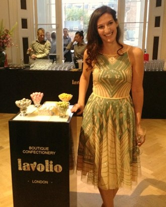 Confectionary business owner Lavinia Davolio explains her career change from investment banking to selling sweets