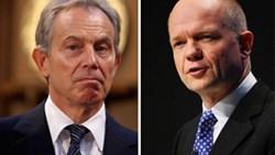 "William Hague attacks Tony Blair for his comment for remain supporters to ""rise up"""