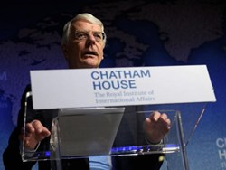 "Pro-Brexit supporters are ""over optimistic"" about the future, says Sir John Major"