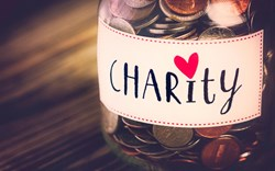 The financial guide to giving to charity with Faith Archer