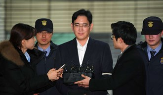 Samsung boss on trial in bribery scandal