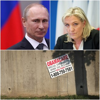 Share Politics: The Art of the Repeal, when Le Pen met Putin