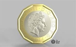 How will the new 12-sided pound coin affect the vending industry?