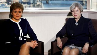 Prime Minister May and Nicola Sturgeon meet to discuss indyref2. Was it a frosty reception?