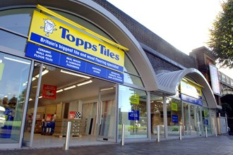 Topps Tiles says the tougher housing market has made shares fall 6%