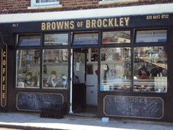 Browns of Brockley becomes cash-free cafe