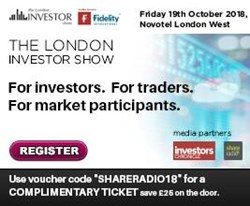 Come to the London Investor Show