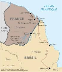 French Guiana (part of the EU & its customs union) borders Brazil, but has no hard border ..