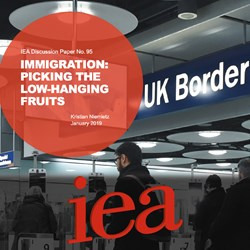 IEA: Immigration - Picking the low-hanging fruits