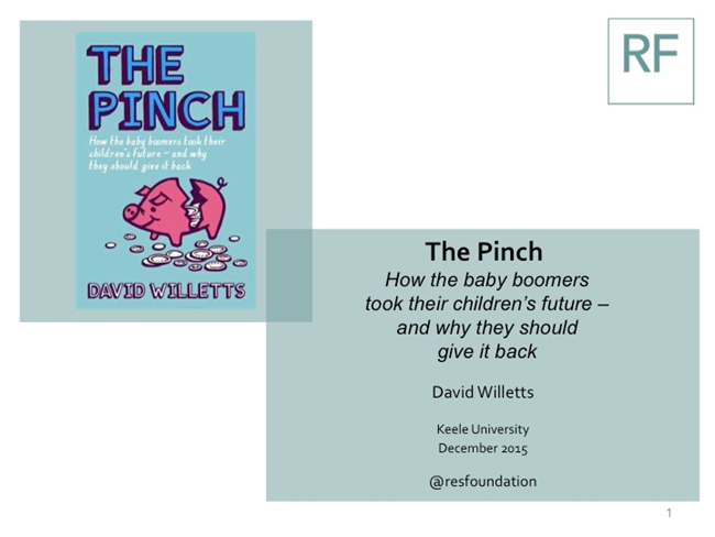 The Pinch - David Willetts