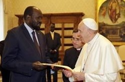 Pope Francis & Archbishop Justin Welby's initiative for South Sudan