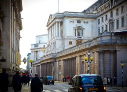 The Old Lady of Threadneedle Street ..