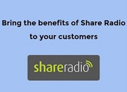 You can provide free listening to your customers by partnering with Share Radio ..